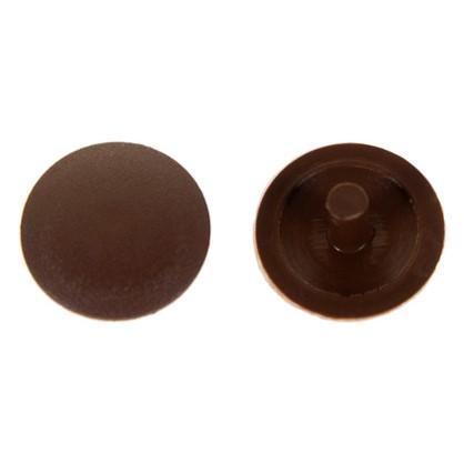 Заглушка на шуруп-стяжку PZ 5 мм полиэтилен цвет коричневый 40 шт.
