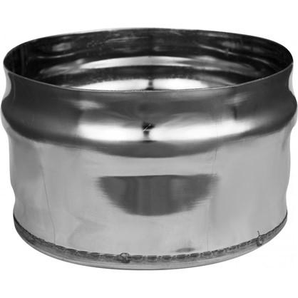 Заглушка нержавеющая глухая 115х0.5 мм нержавеющая сталь