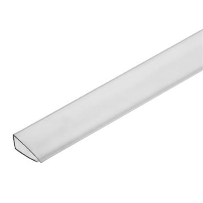 Купить Заглушка торцевая 6 мм x 2.1 м цвет прозрачный дешевле