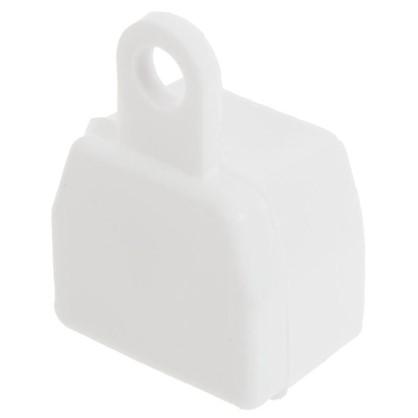 Купить Заглушка U-шины цвет белый 2 шт. дешевле