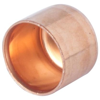 Заглушка Viega 15 мм медь