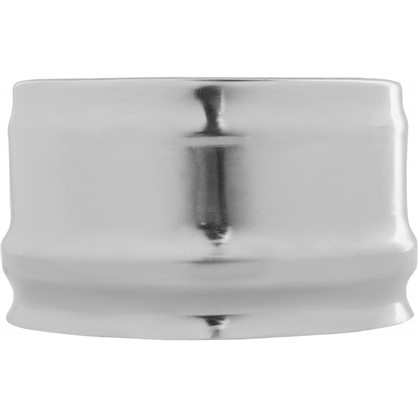 Купить Заглушка внешняя для трубы 430/0.5 мм D110 мм дешевле