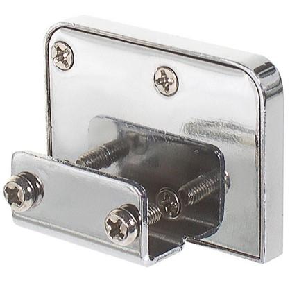 Купить Замок мебельный накладной Z258CP.2/18 для стеклянных дверей цвет хром дешевле
