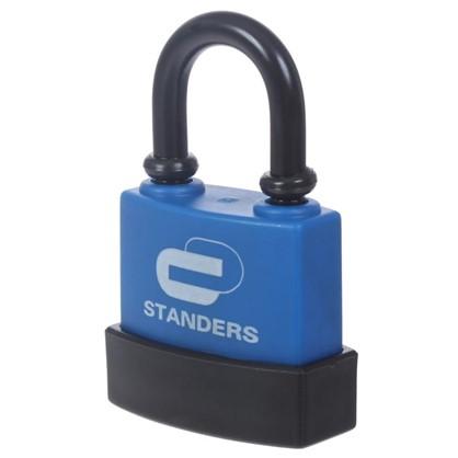 Купить Замок с автоматическим запиранием Standers пластиковое покрытие 40 мм чугун дешевле