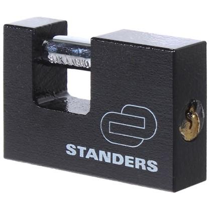 Купить Замок Standers с автоматическим запиранием 75 мм чугун дешевле