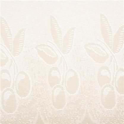 Занавеска для кухни Ягода 145х70 см жаккард цвет молочный