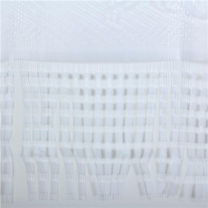 Занавеска Лоза 170х145 см цвет белый