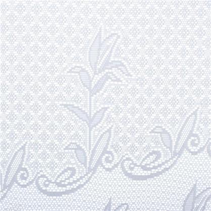 Занавеска на ленте Ажур 245х165 см жаккард цвет белый
