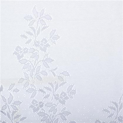 Занавеска на ленте Хоровод 265х165 см жаккард цвет белый
