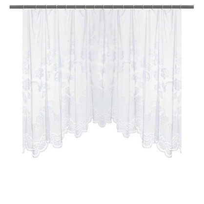 Занавеска на ленте Уют 470х165 см цвет белый