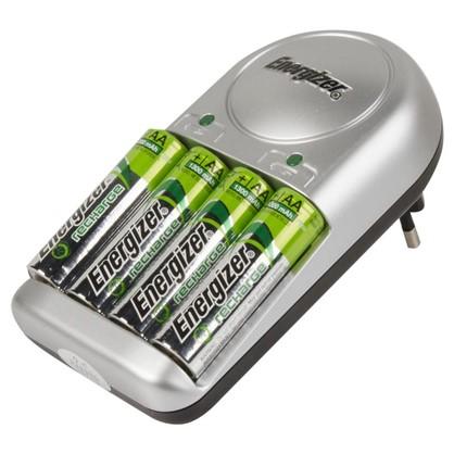 Зарядное устройство Energizer Base Charger 4 аккумулятора AA 1300 мAч
