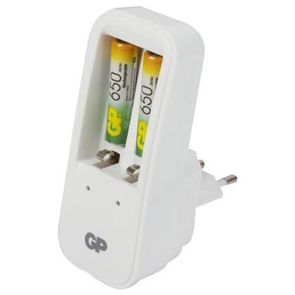 Зарядное устройство GP 410 2 аккумулятора ААА 650 мAh