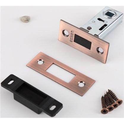 Защелка межкомнатная магнитная EDS-6-50 цвет медь