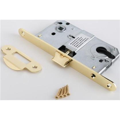 Купить Защелка под цилиндр EDS-50-85 KEY с ключом металл цвет золото дешевле