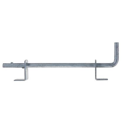 Засов для ворот 16х500 мм сталь оцинкованная