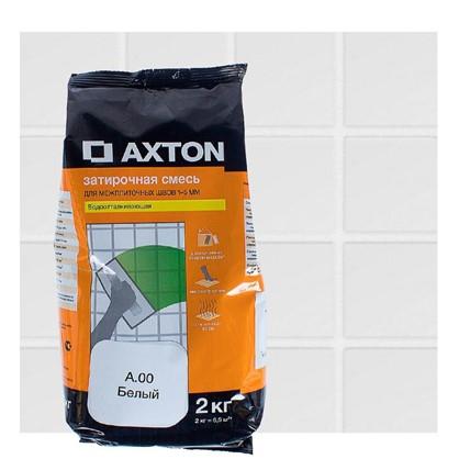 Цементная затирка Axton А.00 2 кг цвет белый