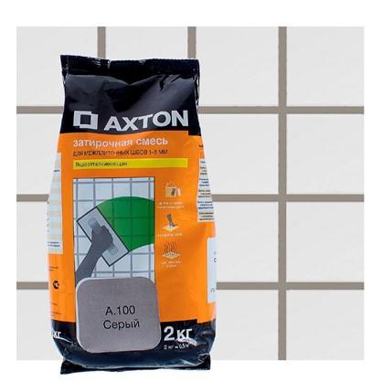 Цементная затирка Axton А.100 2 кг цвет серый