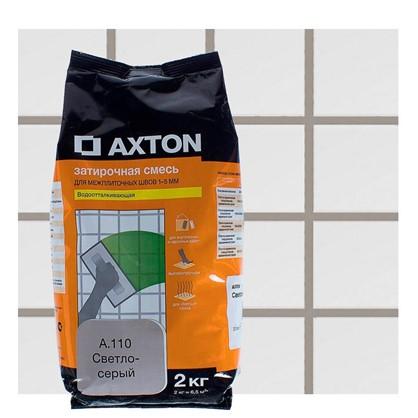 Цементная затирка Axton А.110 2 кг цвет светло-серый