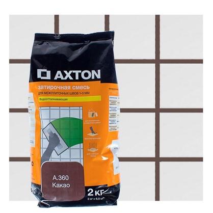 Цементная затирка Axton А.360 2 кг цвет какао