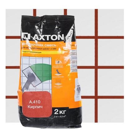Цементная затирка Axton А.410 2 кг цвет кирпич