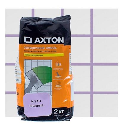 Купить Цементная затирка Axton А.710 2 кг цвет фиалка дешевле