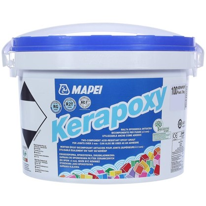 Эпоксидная затирка Kerapoxy N.100 цвет белый 2 кг
