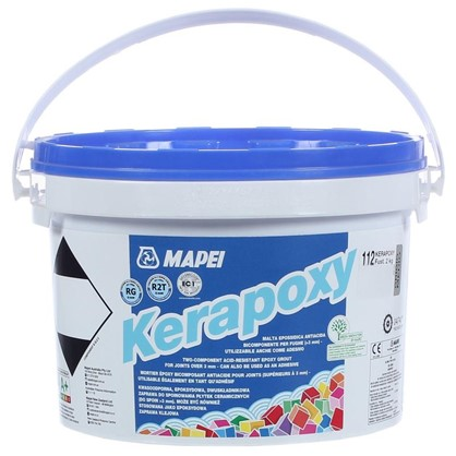 Эпоксидная затирка Kerapoxy N.112 цвет серый 2 кг