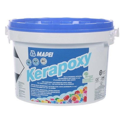 Эпоксидная затирка Kerapoxy N.114 цвет антрацит 2 кг