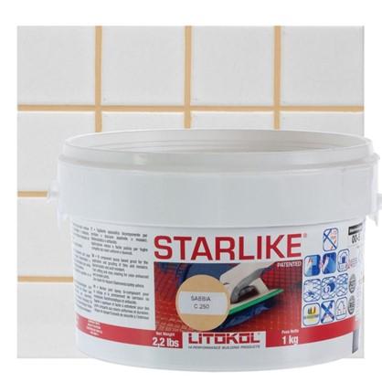 Эпоксидная затирка Litochrom Starlike C250 1 кг цвет бежевый