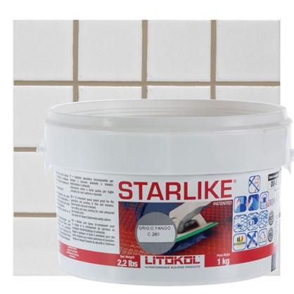 Эпоксидная затирка Litochrom Starlike C280 1 кг цвет серый