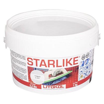 Эпоксидная затирка Litochrom Starlike C310 1 кг цвет титановый