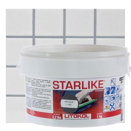 Эпоксидная затирка Litochrom Starlike C480 1 кг цвет серебристо-серый