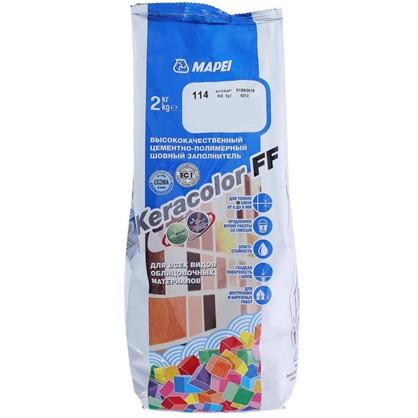 Купить Затирка Keracolor FF цвет антрацит 2 кг дешевле