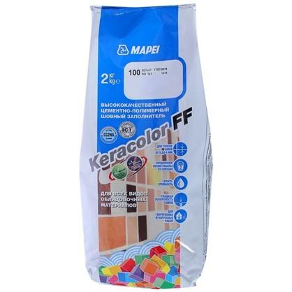 Купить Затирка Keracolor FF цвет белый 2 кг дешевле
