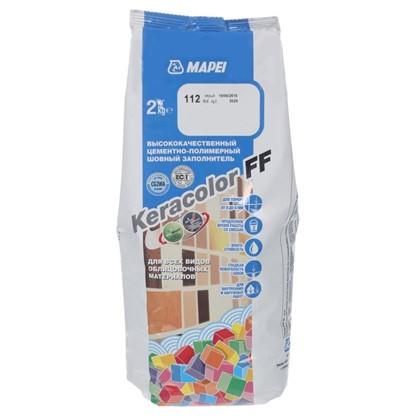Купить Затирка Keracolor FF цвет серый 2 кг дешевле