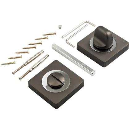 Завертка к ручкам BK AL 02 цвет матовый черный никель
