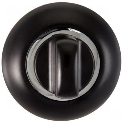 Купить Завертка к ручкам RENZ BIG цвет черный/глянцевый хром дешевле