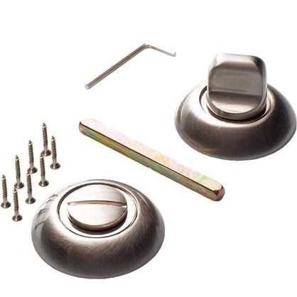 Завертка к ручкам RENZ цвет глняцевый/матовый никель