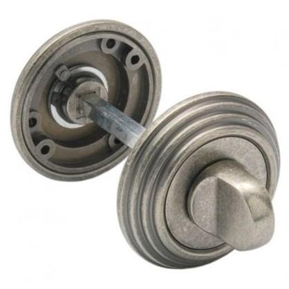 Завертка сантехническая EDS-WC V003 AGED SILVER цвет античное серебро