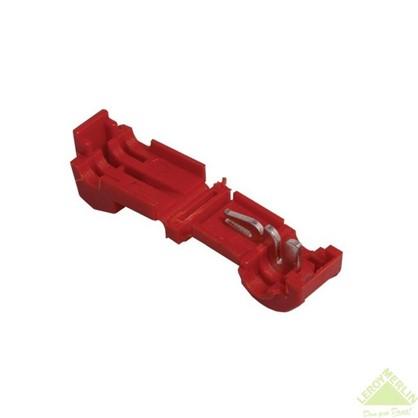 Зажим ответвитель ЗПО 0.5-1.5 мм2 ПВХ цвет красный 100 шт.