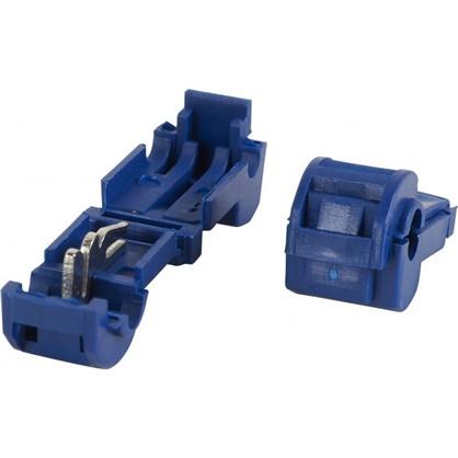 Зажим ответвитель ЗПО 1-2.5 мм2 ПВХ цвет синий 100 шт.
