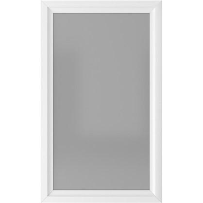 Зеркало 60х100 см цвет белый матовый