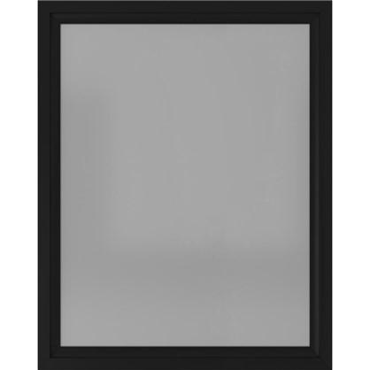 Купить Зеркало 80х100 см цвет чёрный матовый дешевле
