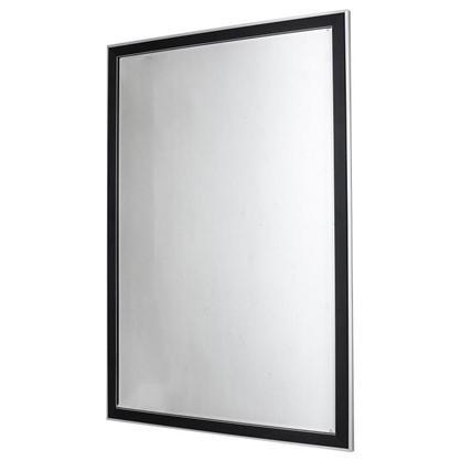 Купить Зеркало без полки 60 см цвет чёрный дешевле