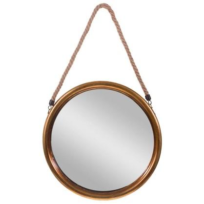 Зеркало декоративное на веревке диаметр 38 см
