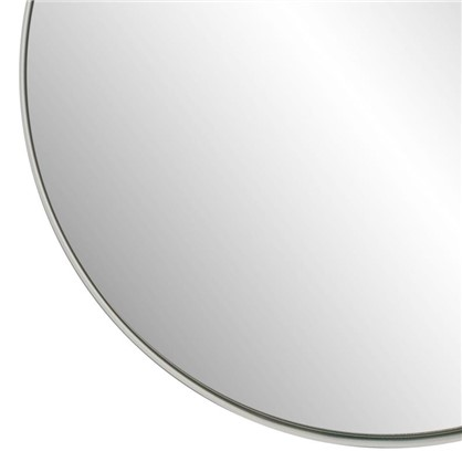 Зеркало Ferro Ø25 см цвет белый