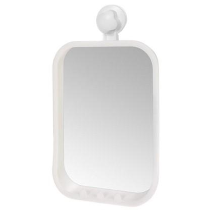 Купить Зеркало косметическое Grampus на вакуумной присоске 21х36 см материал пластик дешевле