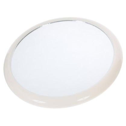 Зеркало косметическое Grampus на вакуумной присоске диаметр 19.5 см материал пластик
