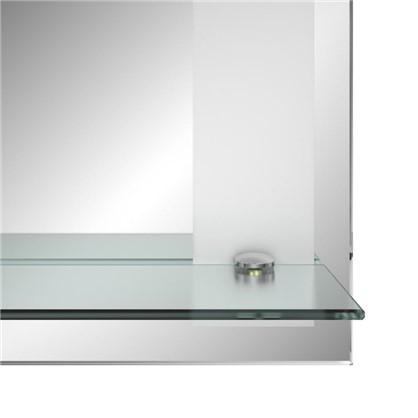 Зеркало Лучано с полкой 50 см
