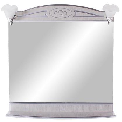 Купить Зеркало Луиза 83 см цвет белое серебро дешевле